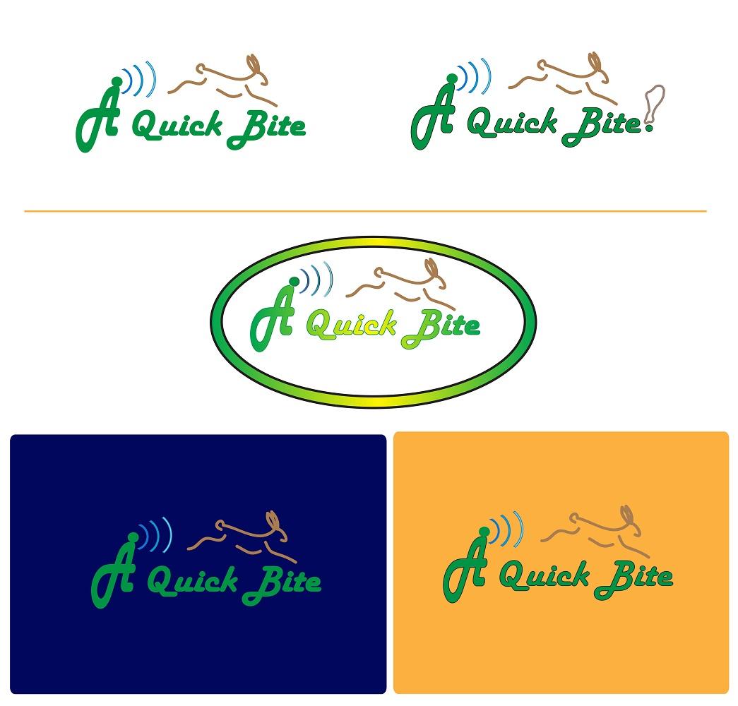 Radio Logo Design for A Quick Bite by Juki | Design #3185751