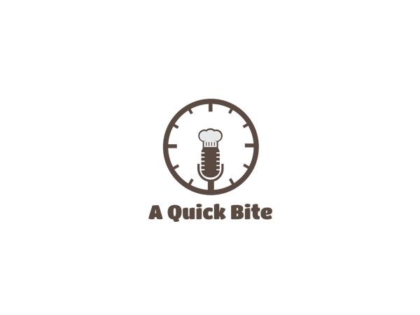Radio Logo Design for A Quick Bite by SPOT ON | Design #3155868