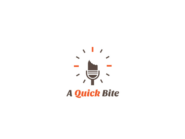 Radio Logo Design for A Quick Bite by SPOT ON | Design #3202776
