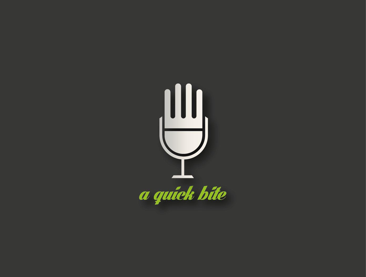 Radio Logo Design for A Quick Bite by greative | Design #3143696