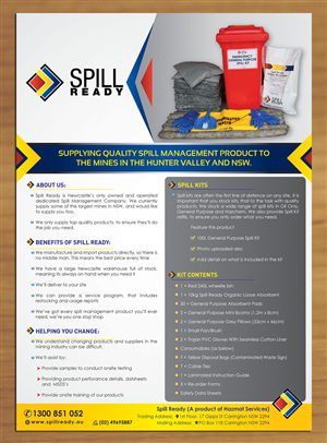 34 flyer designs management flyer design project for spill ready