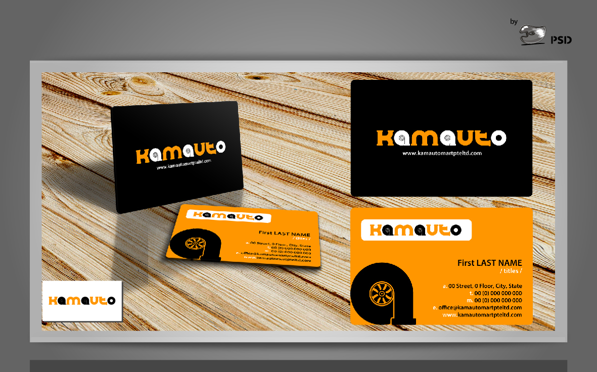Masculine, Modern Logo and Business Card Design for Wei Jie Wong ...