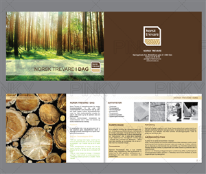 Brochure Design by Pinky  - Norsk Trevare needs a membership brochure