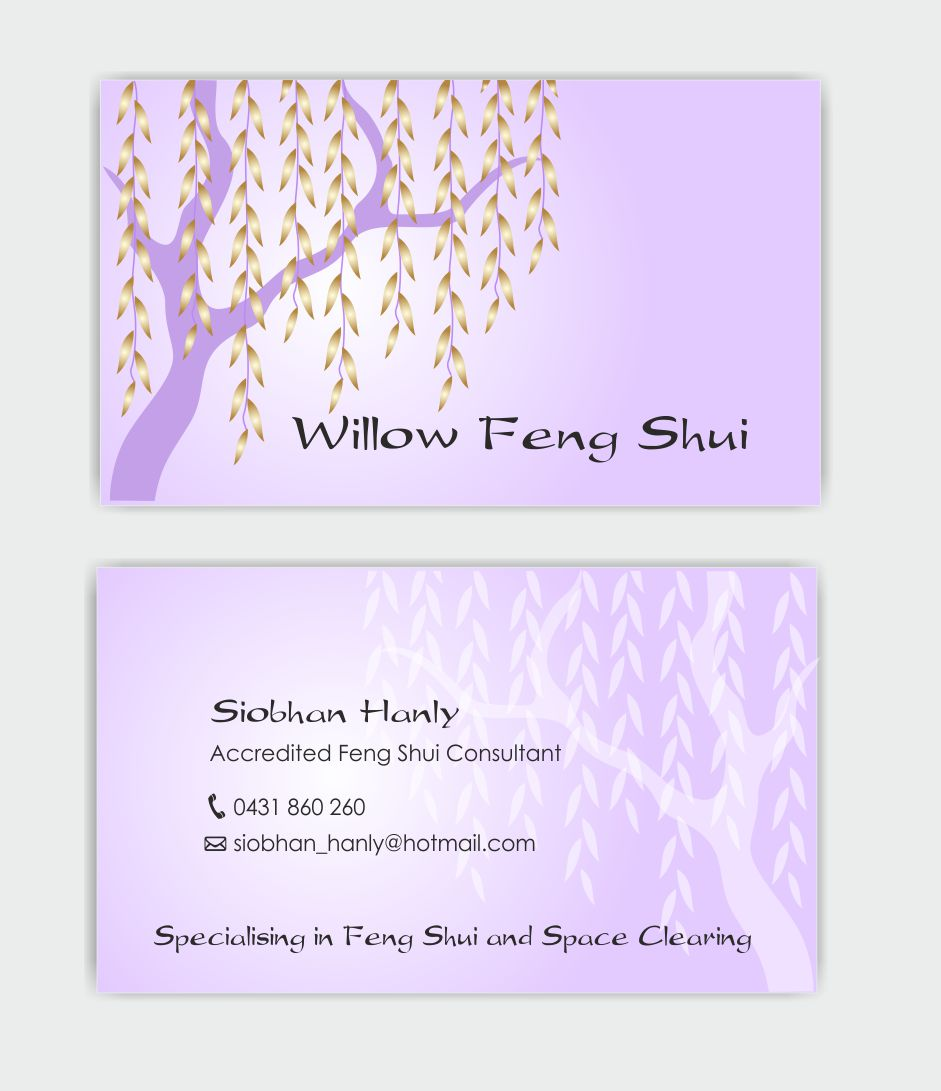 Business Card Design for Siobhan by IneseRo | Design #3153688