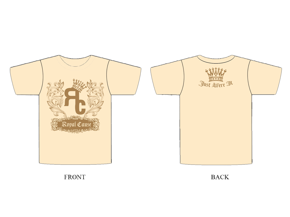 Shirt design nz - T Shirt Design By Nz For Royal Cause Tm Urbin Apparel