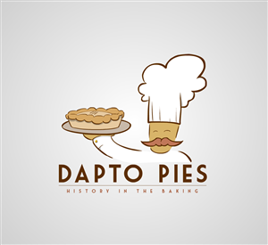 Logo Design job – Pie Shop Logo – Winning design by Michael Davies