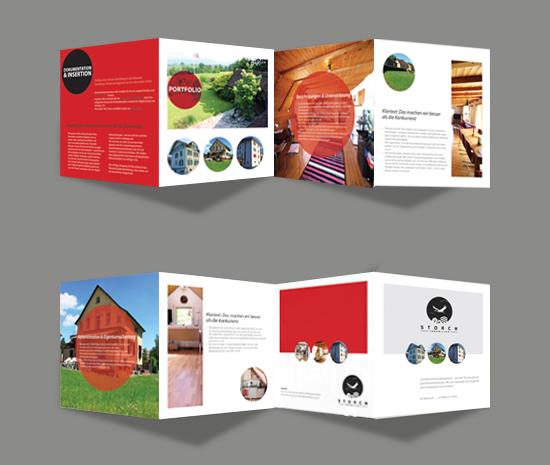 Upmarket Property Development Brochures : Upmarket elegant real estate brochure design for storch