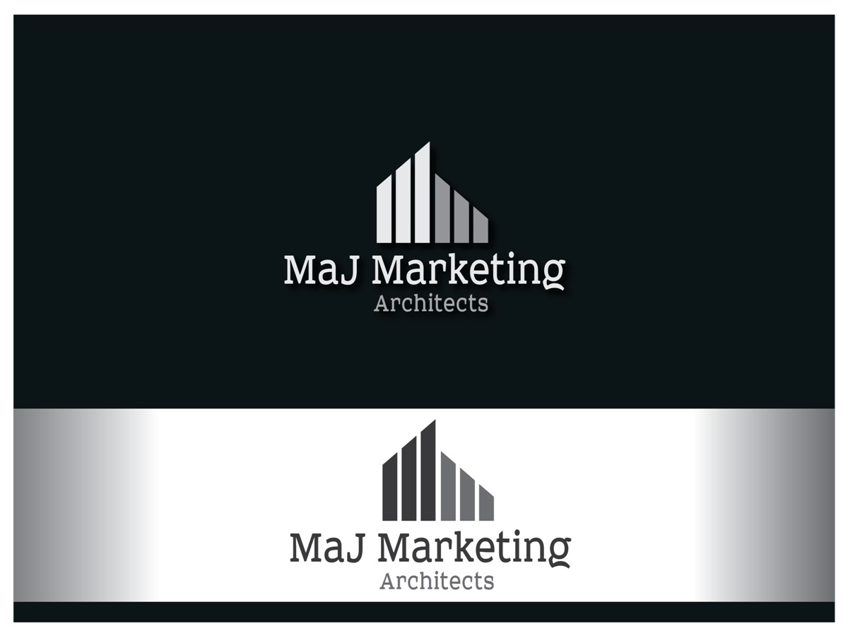 Marketing logo design for maj marketing architects by akg for Marketing for architects and designers