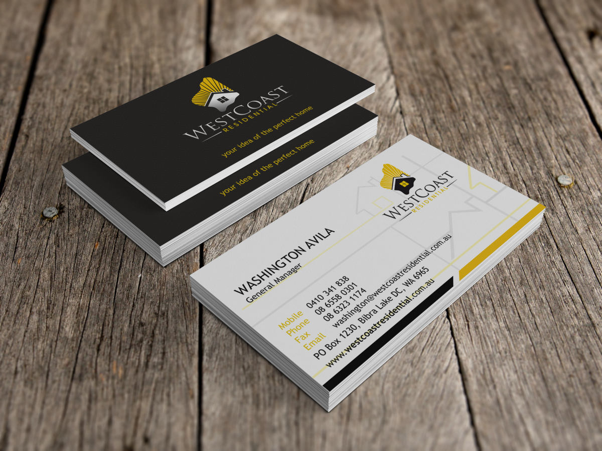 Home Builder Business Card Design For 1800 Book A Dj By Hypdesign