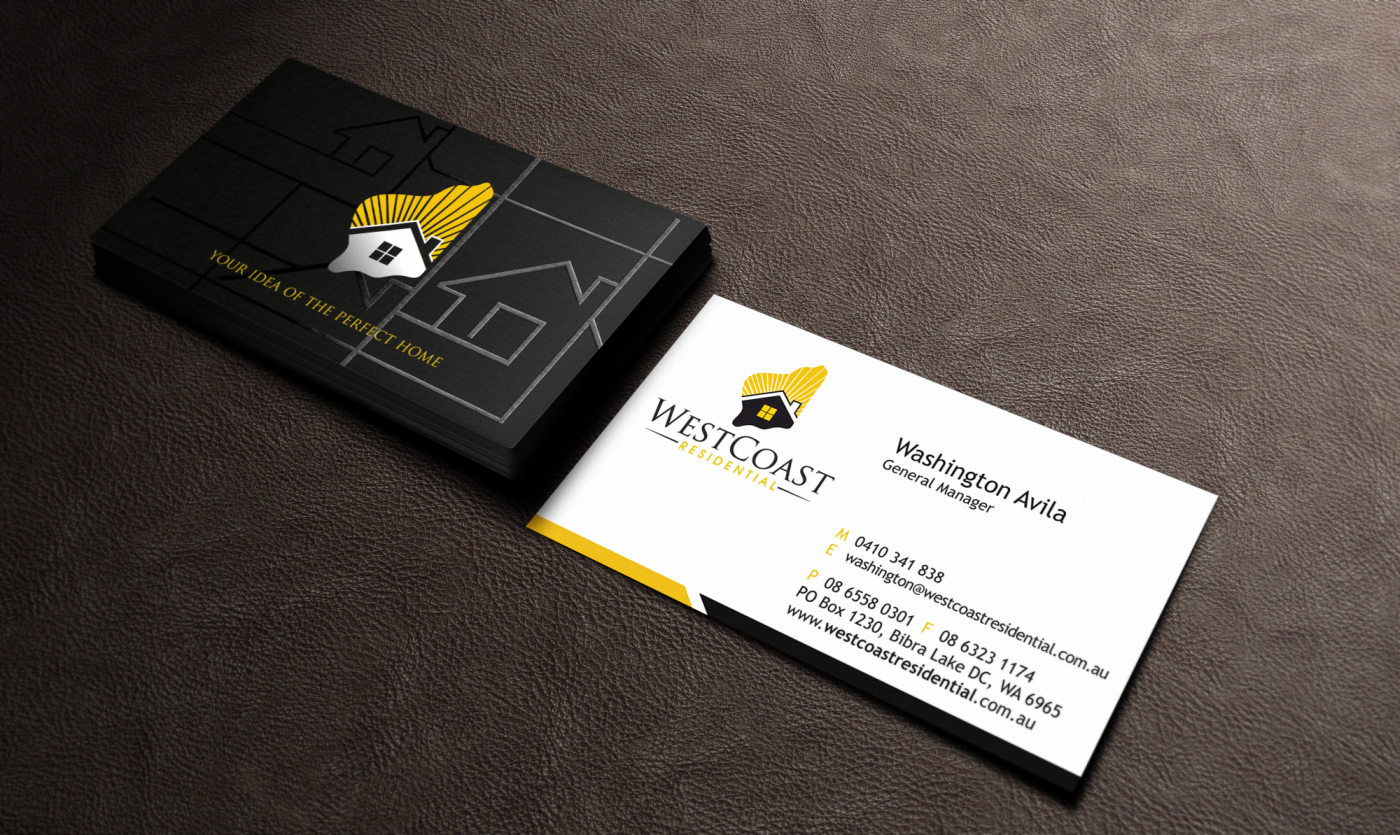 Home Builder Business Card Design For 1800 Book A Dj By