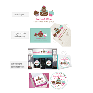 Logo Design by lavinia - Logo Design  - cake / cupcake company