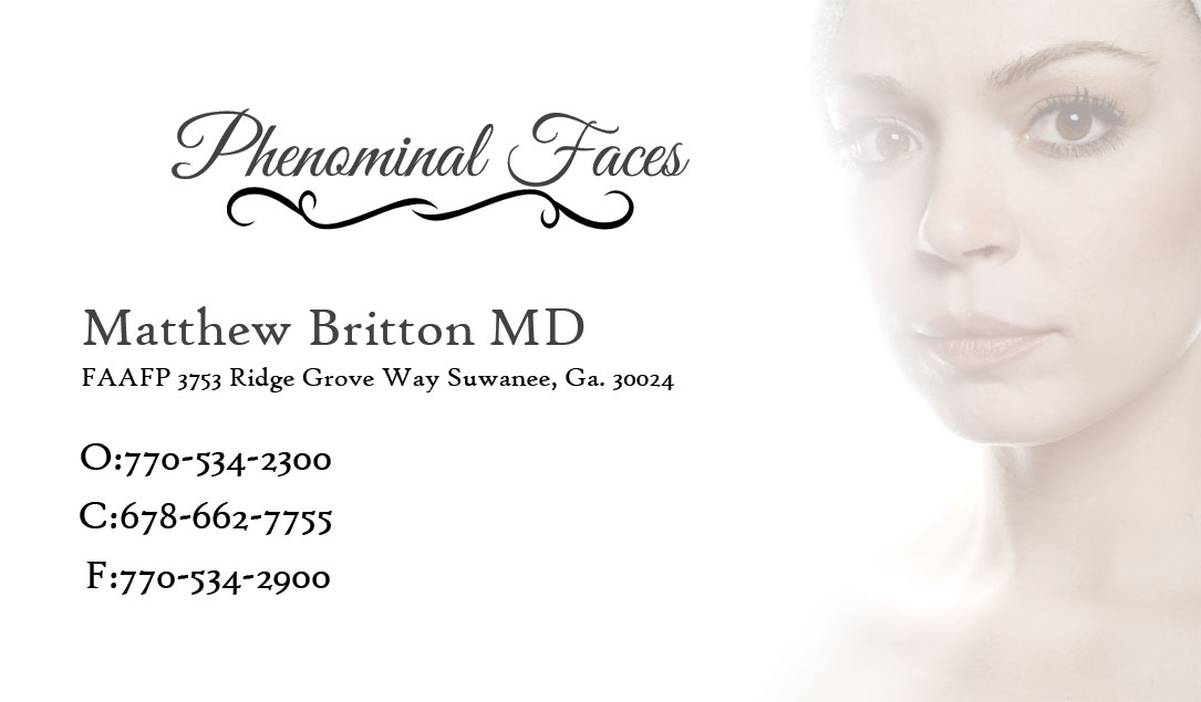Elegant, Professional Business Card Design for Phenominal Faces by ...