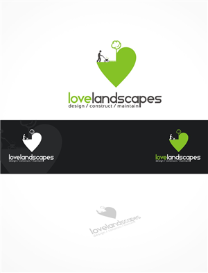 Logo Design by gray mind - Love Landscapes needs an innovative Logo Design