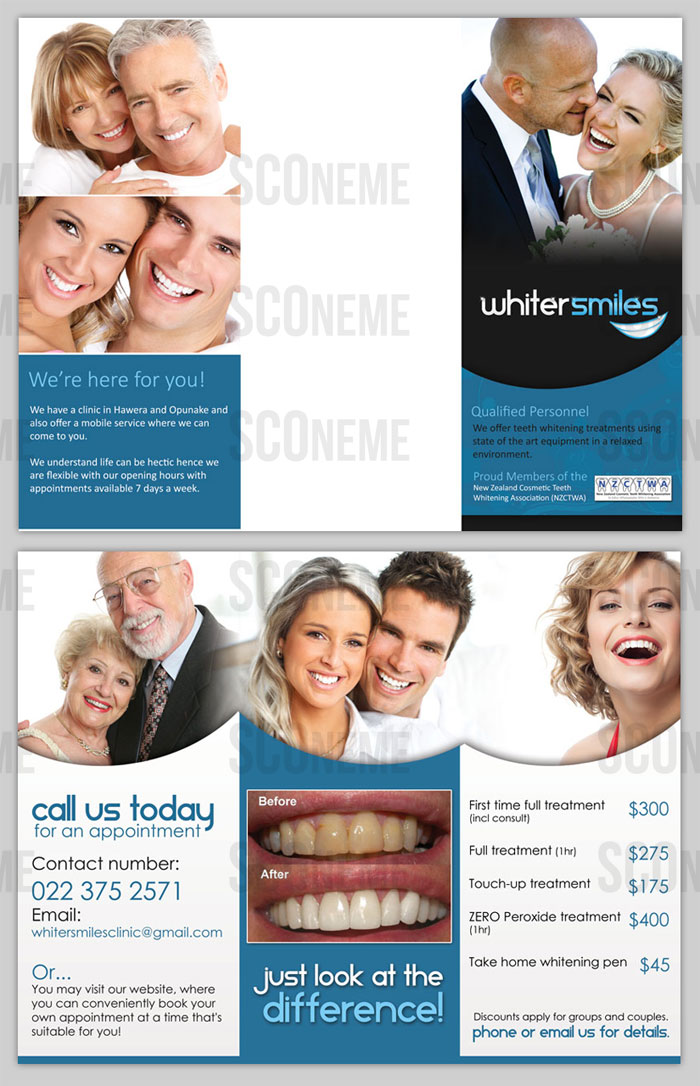 Teeth Whitening Brochure Design 3181111 Submitted to Brochure For Teeth Whitening Business