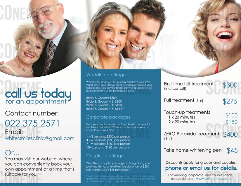 Teeth Whitening Brochure Design 3185980 Submitted to Brochure For Teeth Whitening Business
