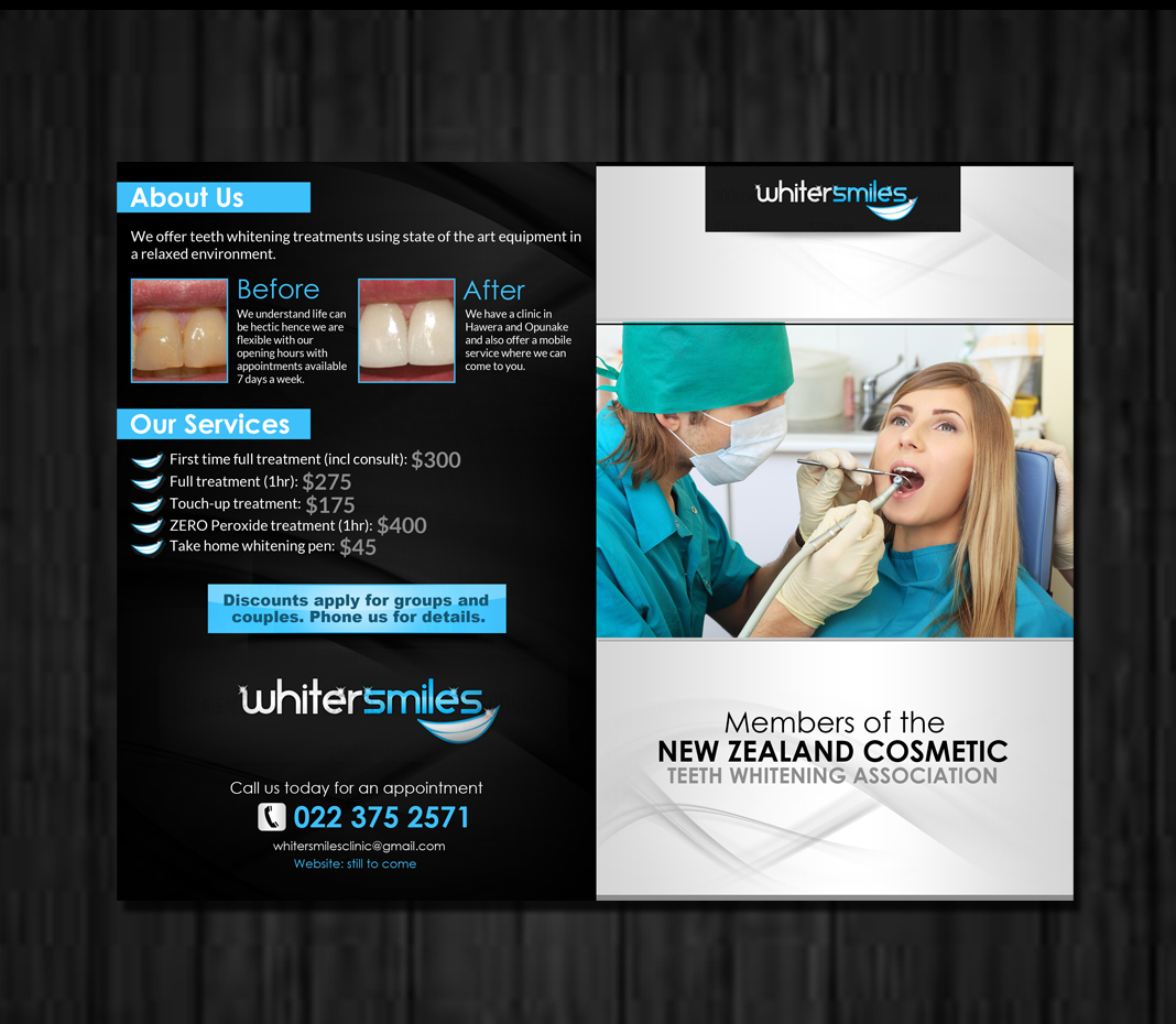 Teeth Whitening Brochure Teeth Whitening Business