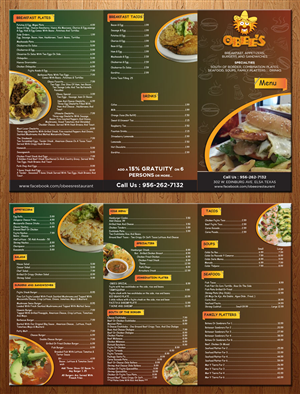 14 menu designs restaurant menu design project for a business in