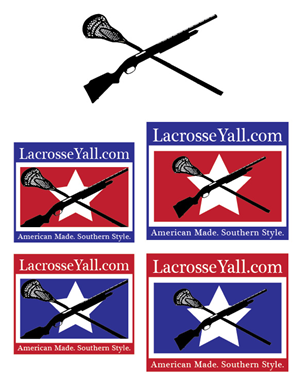 Logo Design by Mannyp25 - fastest growing sport in the South (Lacrosse) n...