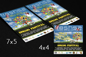Flyer Design by FutureDesigne - fresh52 Farmers & Artisan Market Spring Festival