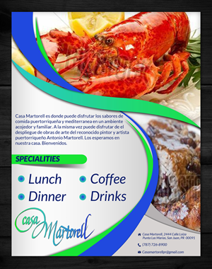 13 flyer designs restaurant flyer design project for a business in