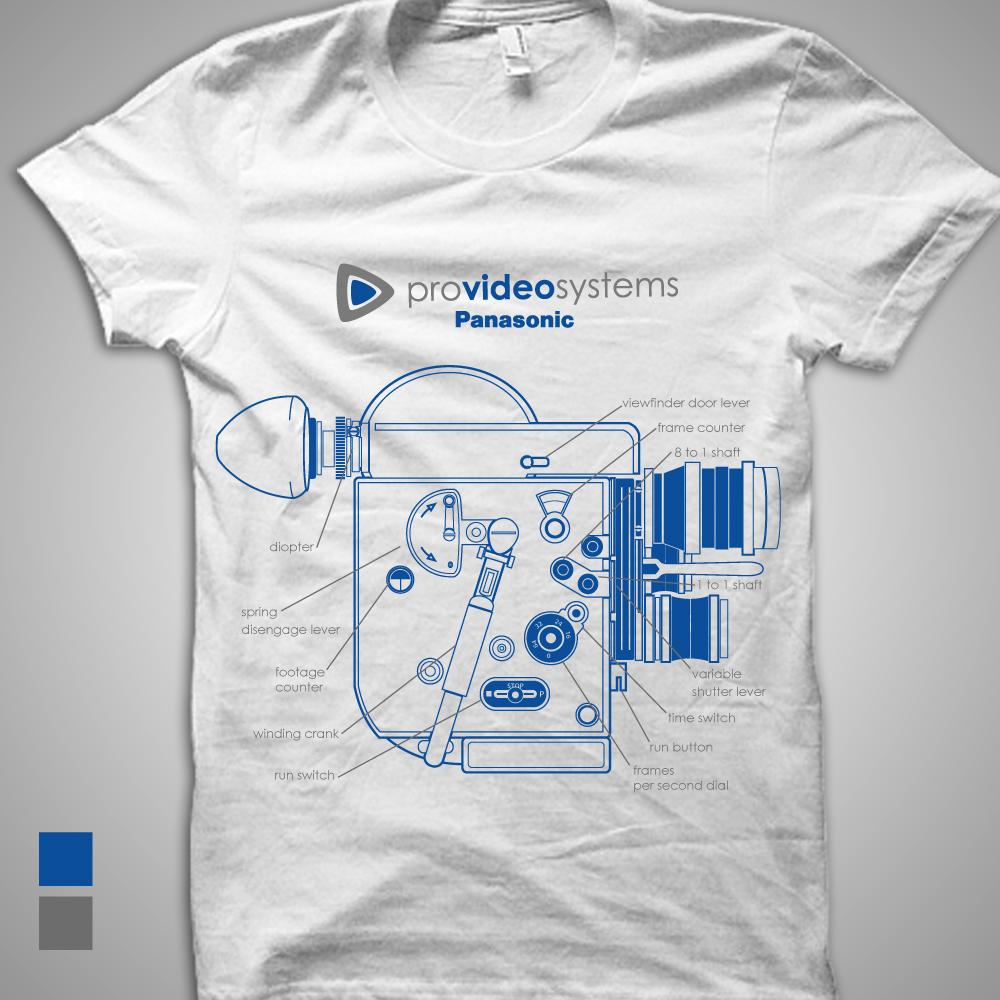 Shirt design video - T Shirt Design By Galih28 For Retro Video Camera T Shirt Design Project