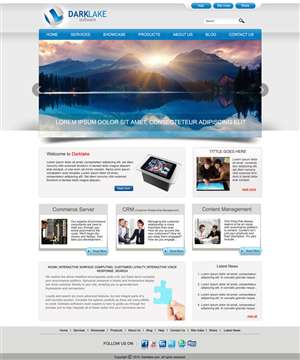 Web Design by designxyz - Provide new look and feel for existing website.