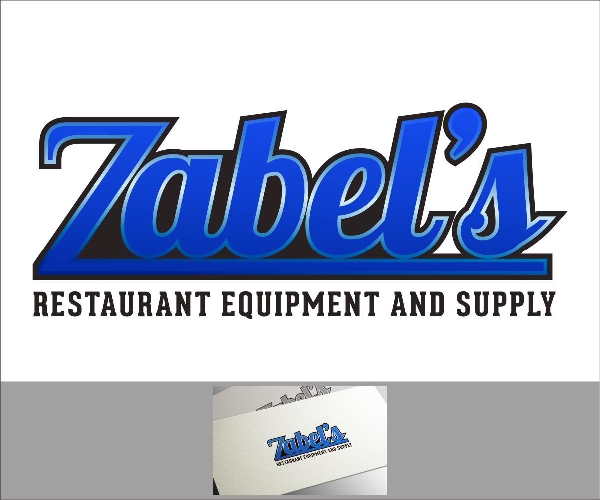 Restaurant logo design for zabel s equipment