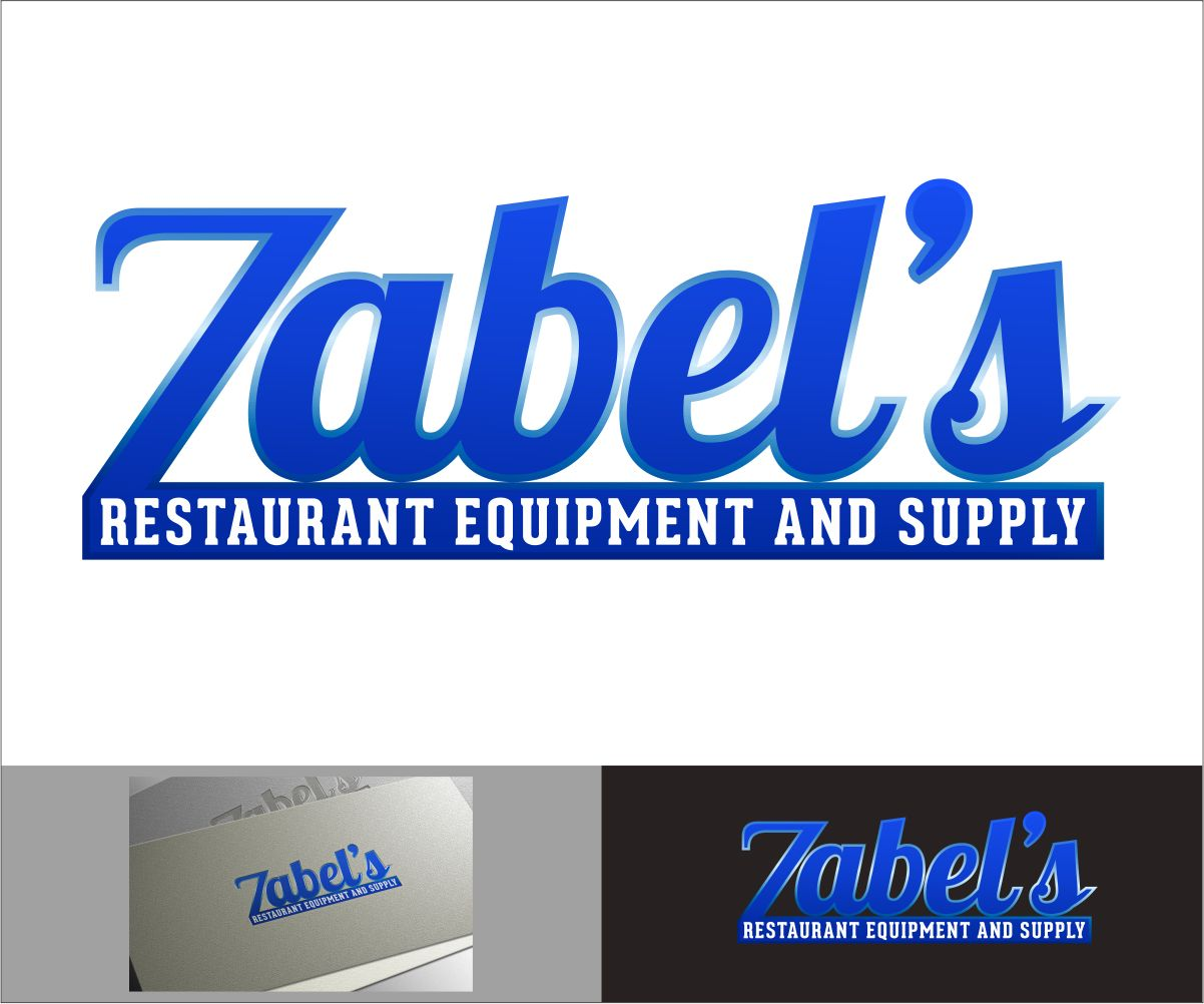 Restaurant logo design für zabel s equipment