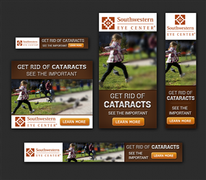 Banner Ad Design by Laurra - Banner Ads for Southwestern Eye Center