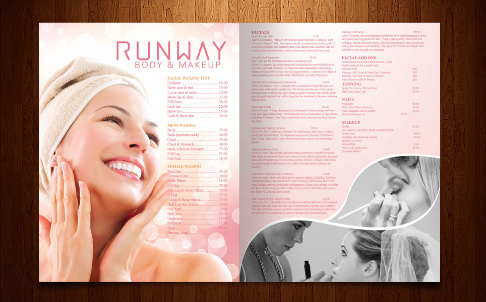 Beauty Salon Brochure Design for a Company by MasterMind | Design ...