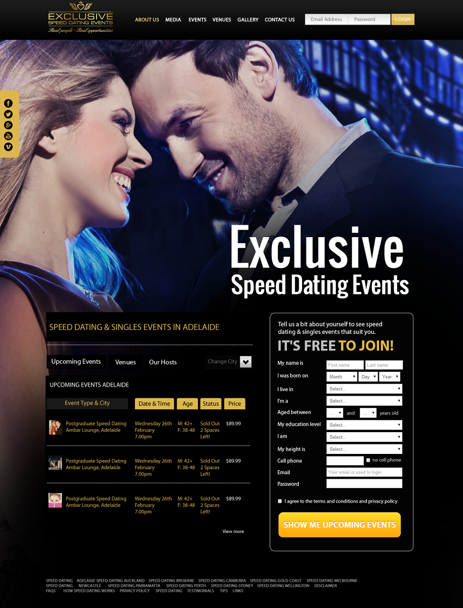 speed dating events dc As the number one speed dating company in chicago, we are eager and happy to share our successful love stories with the dating world we specialize in single professional dating events within the city of chicago and the surrounding area and have discovered that sometimes love is often found right around the corner or within just a few miles.