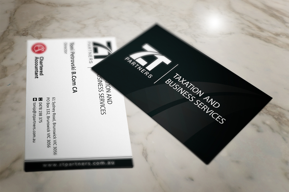 52 Business Card Designs | Accounting Business Card Design Project ...