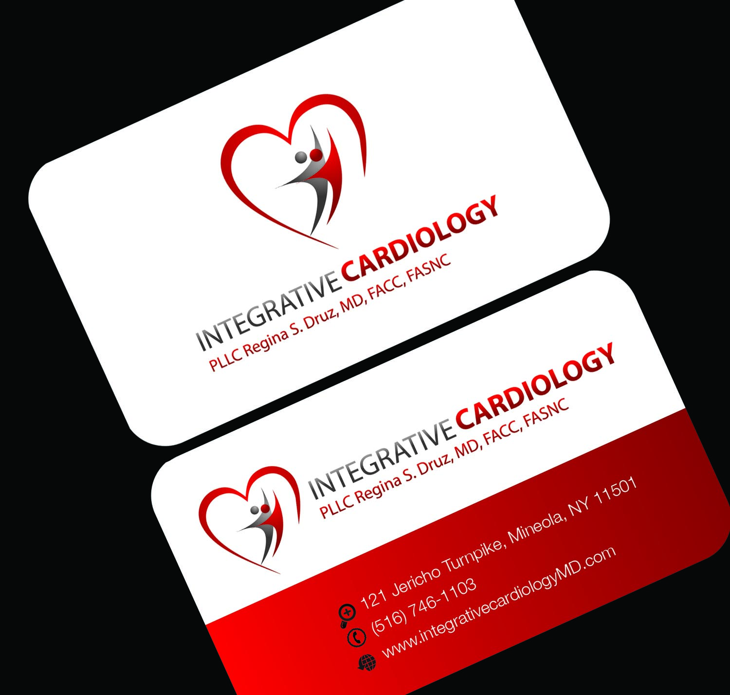Business business card design for integrative cardiology pllc by s2 business business card design for integrative cardiology pllc in united states design 3232962 reheart Choice Image