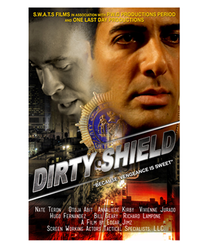 Poster Design by Satyajit Sil Creations - Dirty Shield
