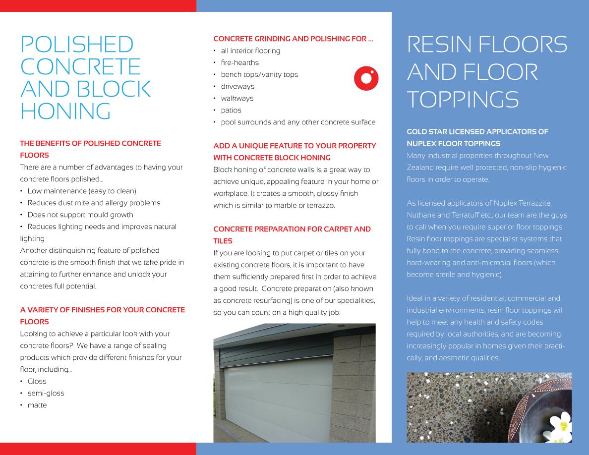 Marketing Brochure Design For Ec Flooring Contractors