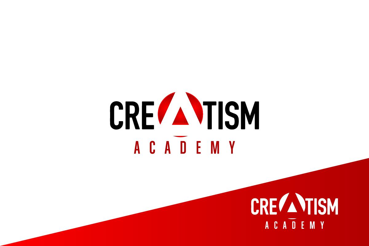 Creatism Triangle Logo Design by  Dar riu