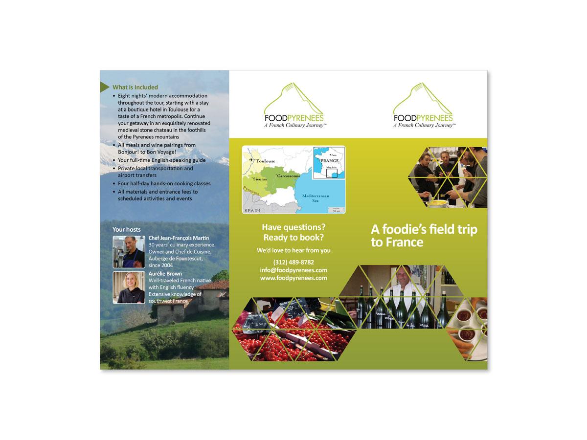 brochure design for boutiques - elegant personable boutique brochure design for a