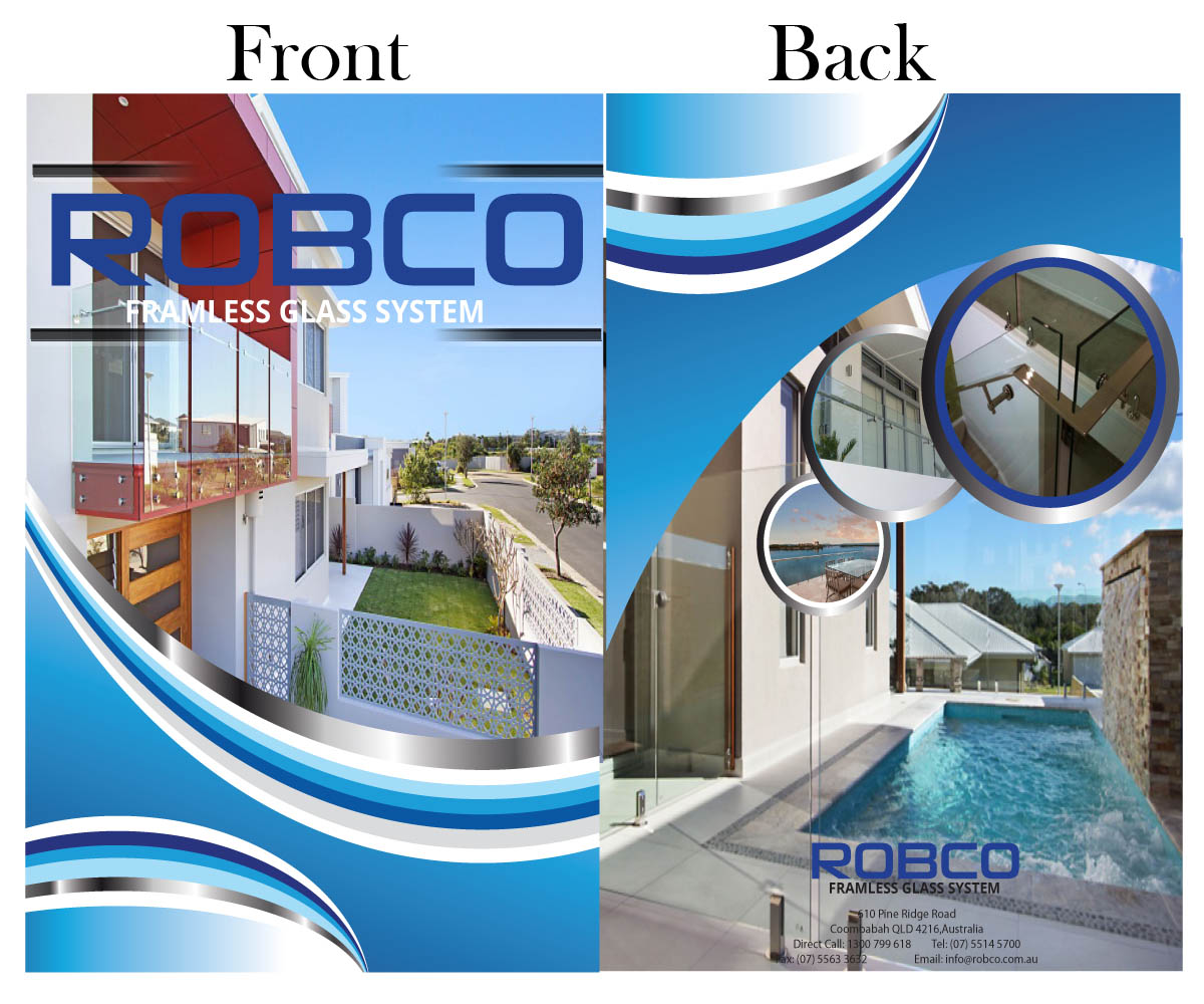 Fencing katalog design for robco holdings pty ltd by for Katalog designer