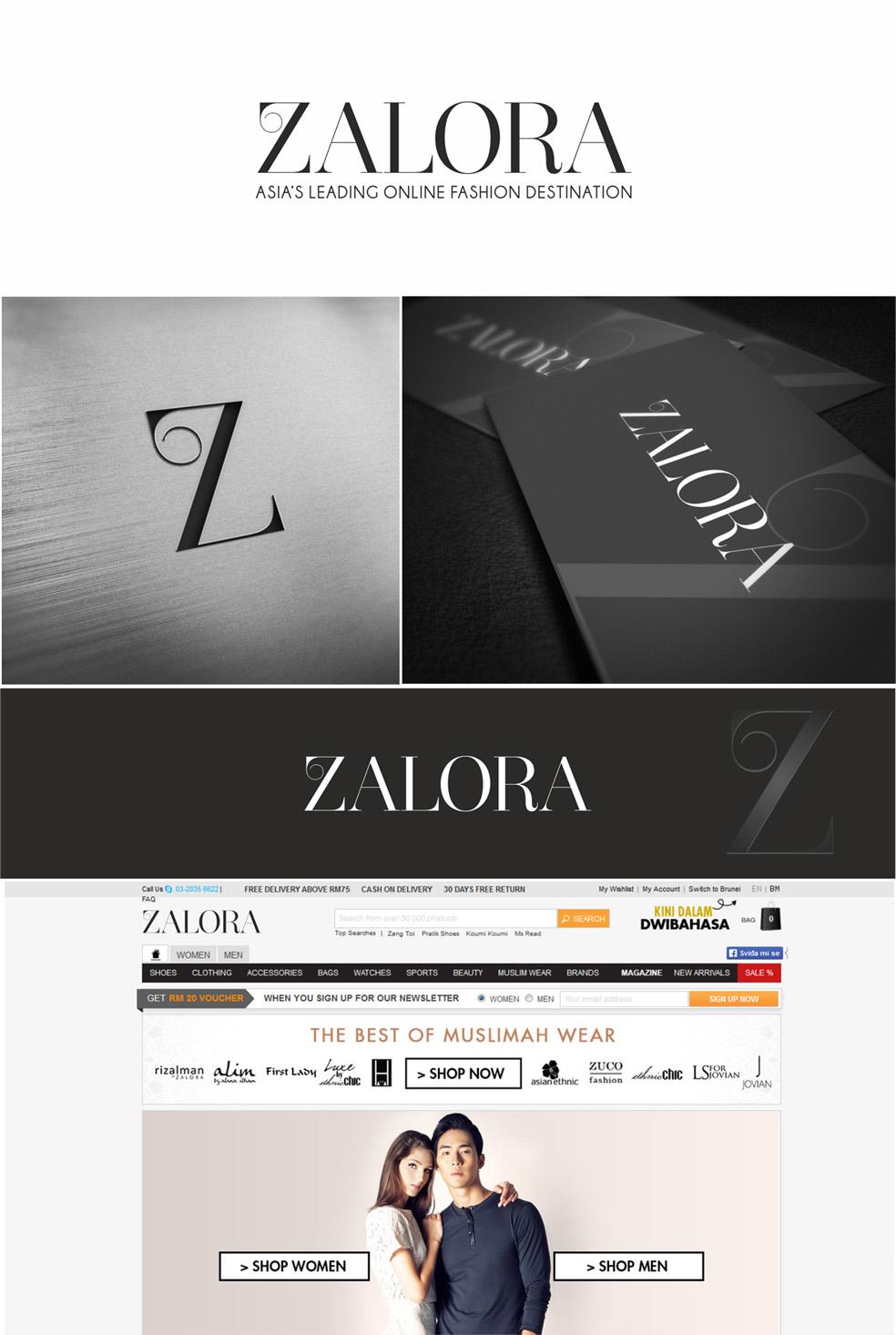 Fashion Logo Design For Zalora By Goreta Design Design 3228142