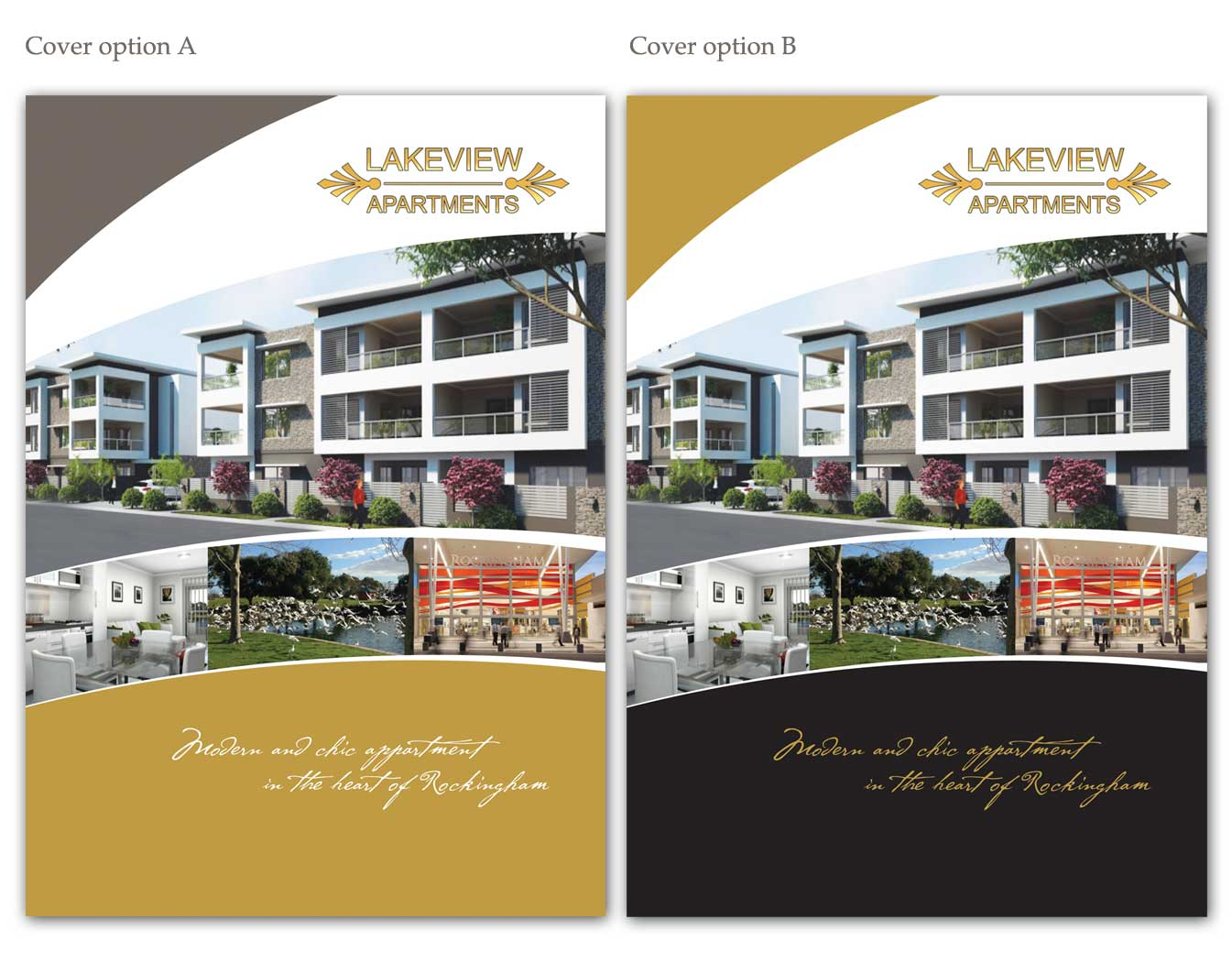 Apartment Brochure Design Elegant Colorful Brochure Design For Yaran Property Group.