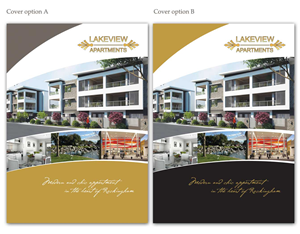 Elegant Colorful Apartment Brochure Designs For A Apartment
