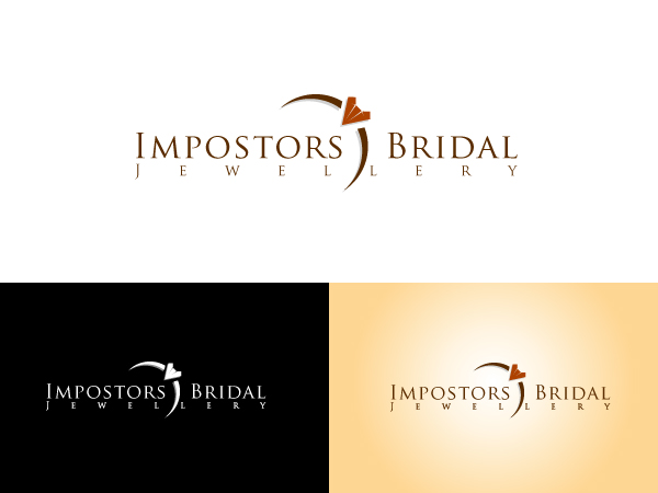 Logo Design by Madhu Bhadra for Impostors Bridal Jewellery - Design #72344