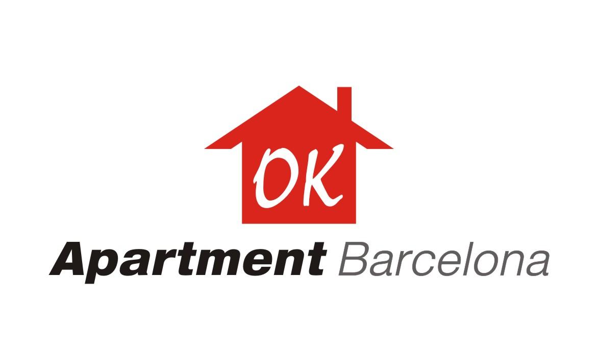 Elegant playful apartment logo design for ok apartment for Apartment logo design