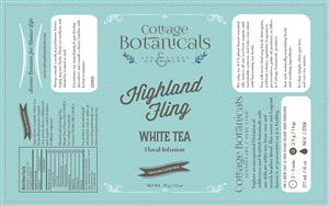 Label Design by megancostill - Herb Farm - Tea Label Design