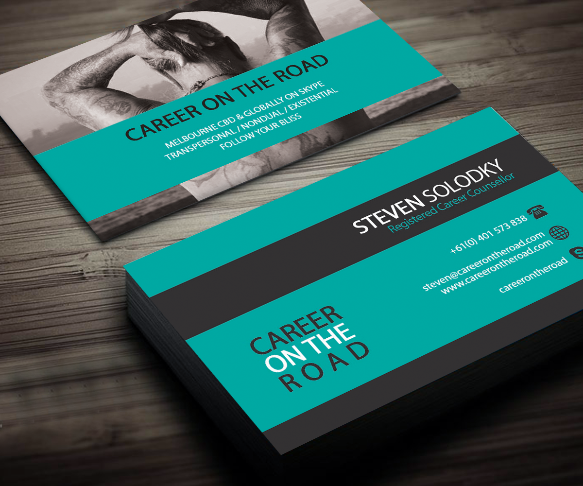 Bold, Modern Business Card Design for Steven Solodky by kenzero ...
