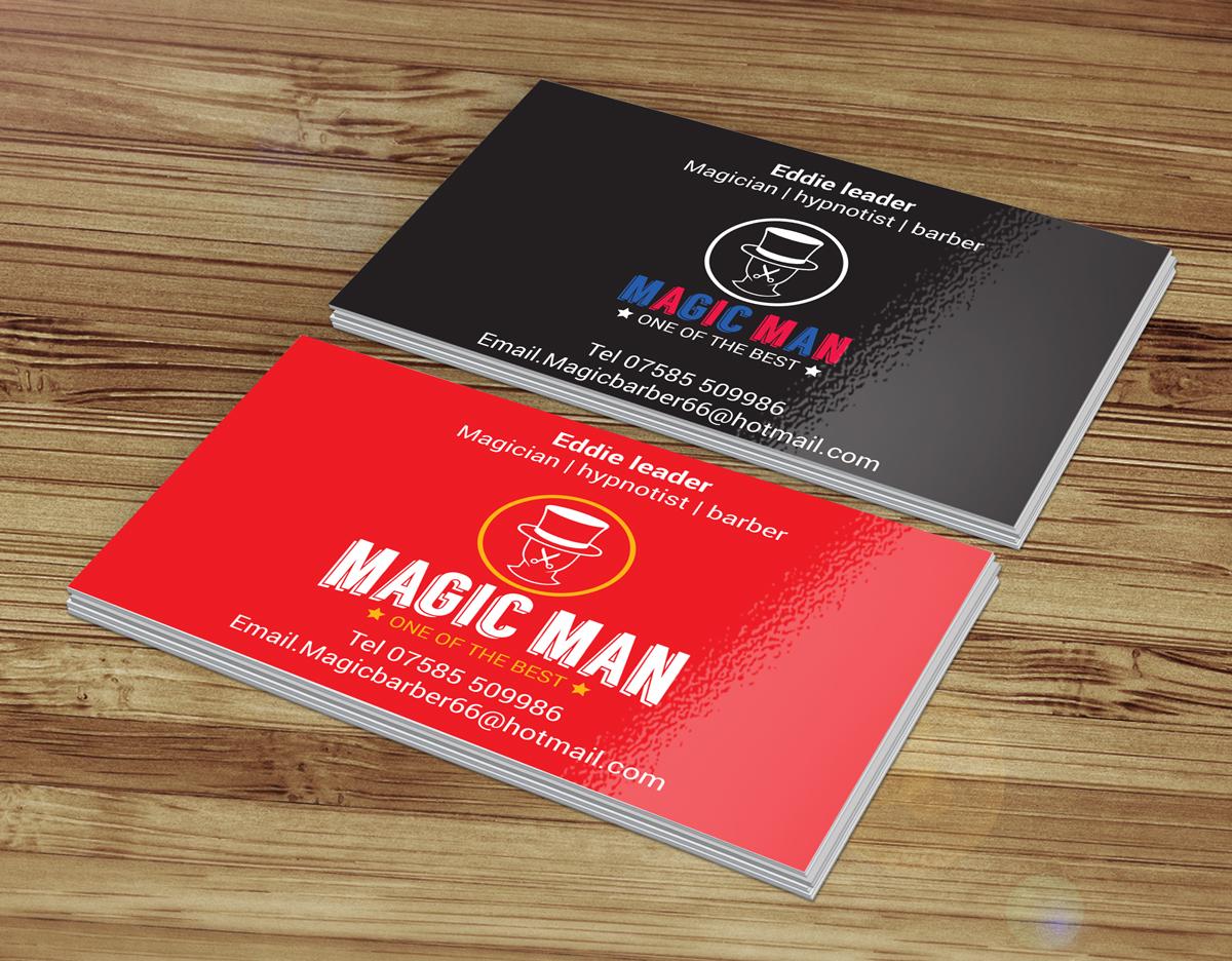 Magician Business Card Design for a Company by bob | Design #3227972