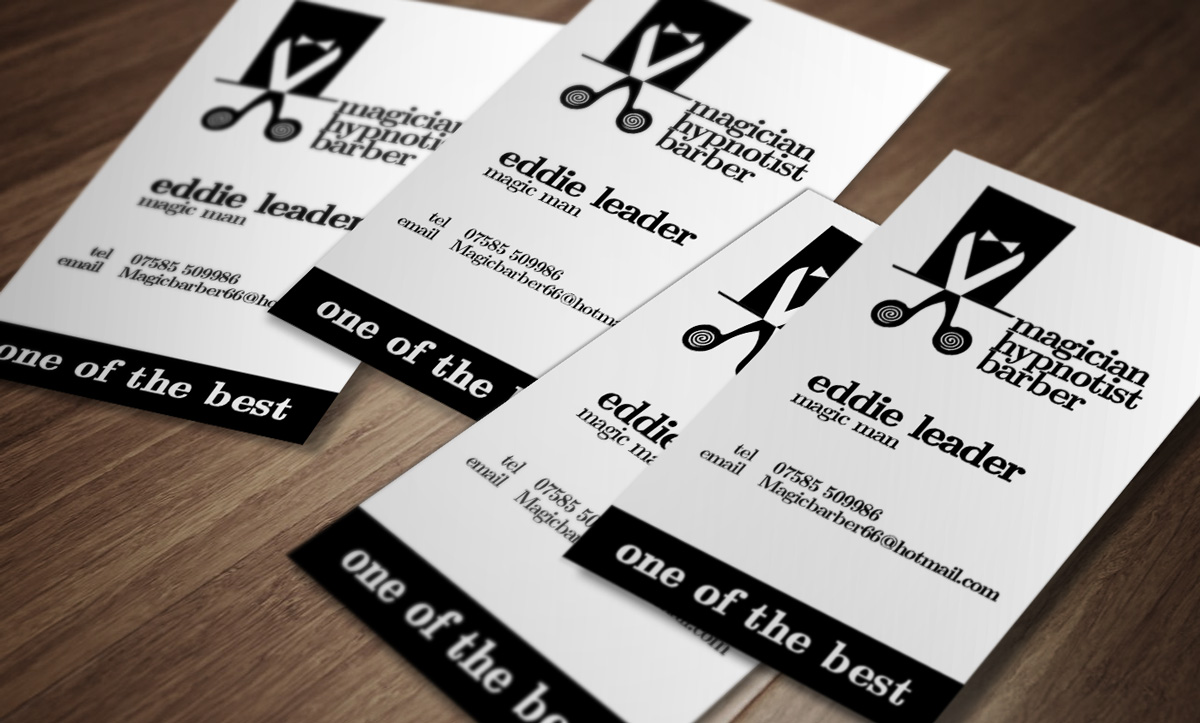 Magician Business Card Design for a Company by dchabashvili | Design ...