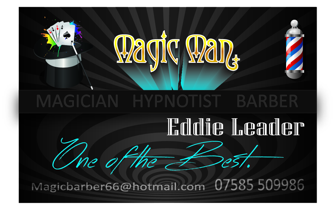 Magician Business Card Design for a Company by Hiram68Abiff | Design ...