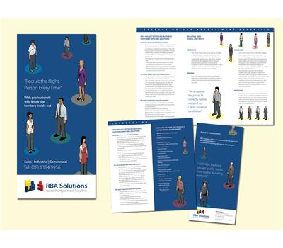 Double Sided Brochure Design 73411