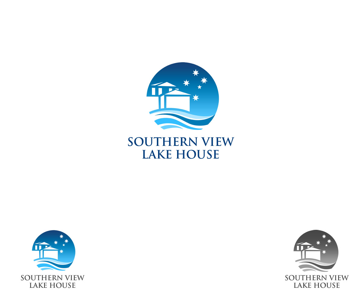 House design logo - Logo Design By Zeta For Logo For Holiday Rental House Called Southern View Lake House